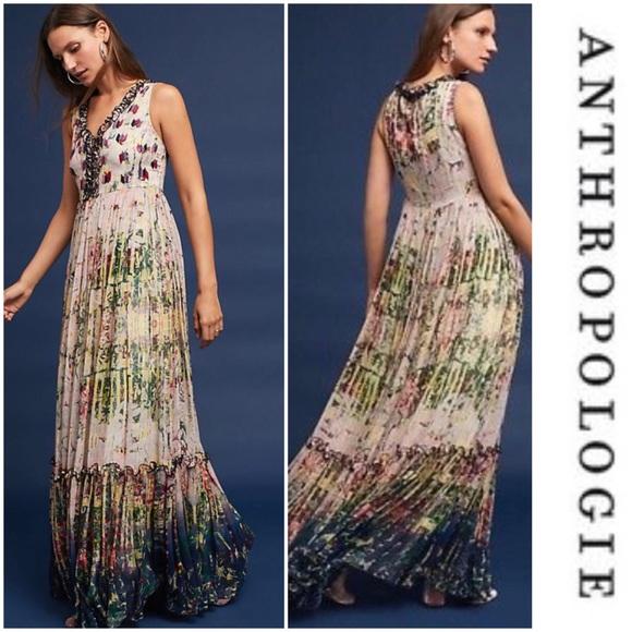 75fe9276feeb4 Anthropologie Dresses | Bhanuni By Jyoti Cydney Maxi Dress | Poshmark